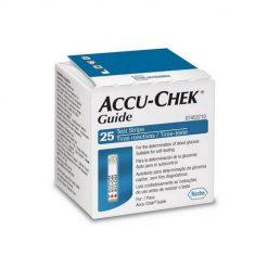 Accu Check Guide 25 tiras reactivas